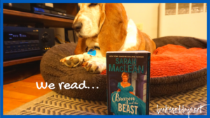 Victorian Wallflower historical romance and a basset hound