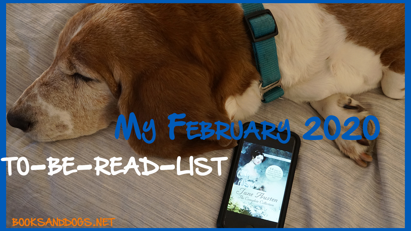 Blog title: My February 2020 To Be Read List